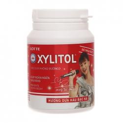 Kẹo không đường Lotte Xylitol hương dưa hấu 58g
