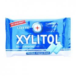 Kẹo không đường Lotte Xylitol hương Fresh Mint 11.6g