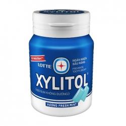 Kẹo không đường Lotte Xylitol hương Fresh Mint 58g