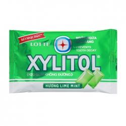 Kẹo không đường Lotte Xylitol hương Lime Mint 11.6g