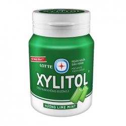 Kẹo không đường Lotte Xylitol hương Lime Mint 58g