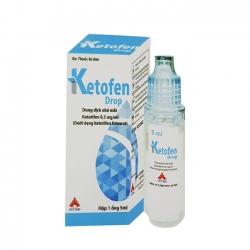 Thuốc nhỏ mắt VNP Ketofen Drop, Lọ 10ml