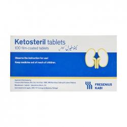Ketosteril Tablets Fresenius Kabi, Hộp 5 vỉ x 20 viên