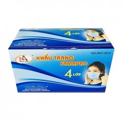 Khẩu trang y tế 4 lớp Nam Anh Famapro