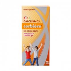 Tpbvsk phát triển chiều cao Kids Calcium+D3 Corbiere 30 viên