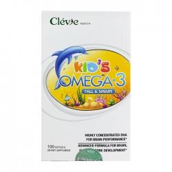 Kids Omega 3 Clevie Health Chai 100 viên
