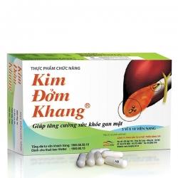 Tpbvsk Kim đởm khang giúp tăng cường sức khỏe gan mật
