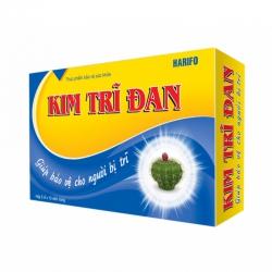 Viên uống Kim Trĩ Đan - Đương qui/Hoàn ki, Hộp 3 vỉ 10 viên