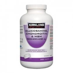 Kirkland Signature Glucosamine Chondroitin and MSM | Chai 300 viên