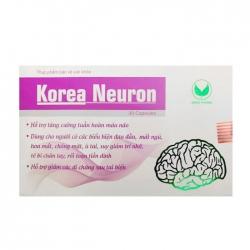 Korea Neuron Green Pharma 30 viên - Viên uống bổ não