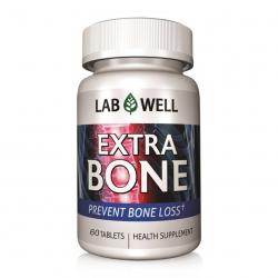 Lab Well Extra Bone bổ sung Calci và Vitamin ngừa loãng xương | Hộp 60 viên