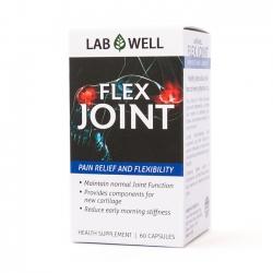 Lab Well Flex Joint bổ sung Glucosamine tăng cường sức khỏe xương khớp | Hộp 60 viên