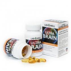 Tpbvsk bổ não Lab Well Ultra Brain, Hộp 60 viên