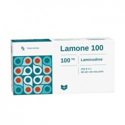 Thuốc điều trị viêm gan B Lamone 100