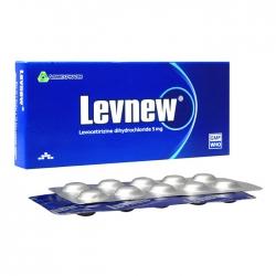 Levnew 5mg Agimexpharm 1 vỉ x 10 viên