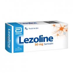 Lezoline 50mg Abbott 3 vỉ x 10 viên