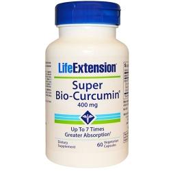 Life Extension Super Bio-curcumin 400mg Vegetarian Capsules, 60 viên/hộp