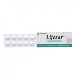 Thuốc tim mạch Lifezar 50mg, Hộp 30 viên