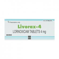 Livorax 4 Micro 10 vỉ x 10 viên