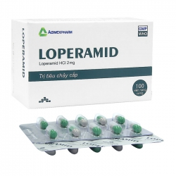 Loperamid 2mg Agimexpharm 10 vỉ x 10 viên