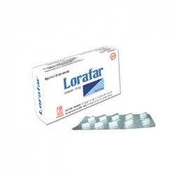 Pharmedic Lorafar 10mg, Hộp 30 viên