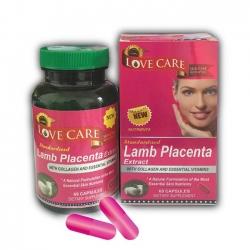 Love Care Lamb Placenta Extract cải thiện sắc tố da, tăng tính đàn hồi và chống chảy xệ
