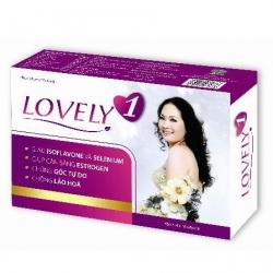Lovely 1 giúp cải thiện các triệu chứng khó chịu của thời kỳ tiền mãn kinh sau 1-2 tuần
