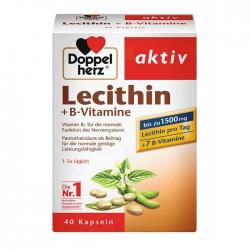 Mầm Đậu Nành Doppelherz Lecithin 1500mg Vitamin B