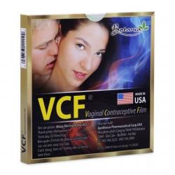 Màng phim tránh thai Botania VCF (3 miếng/hộp)
