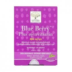 Mắt sáng, khỏe tăng cường thị lực New Nordic Blue Berry Hộp 40 viên