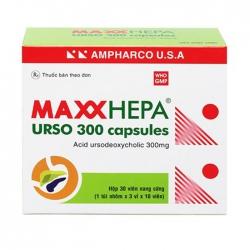 MaxxHepa Urso 150mg Ampharco 3 vỉ x 10 viên
