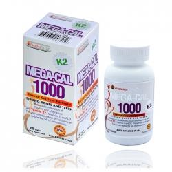 Bổ sung Canxi Mega Cal K2 Vitamins For Life, Hộp 60 viên