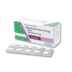 Thuốc tri thấp khớp Meloxicam Teva 15 mg, Hộp 30 viên
