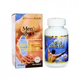 Bổ sung Vitamin cho nam giới Men Daily One Vitamins For Life, Hộp 60 viên