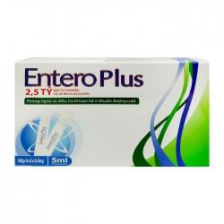 Men vi sinh Entero Plus dạng nước , Hộp 4x5 ống