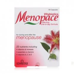 Viên uống tiền mãn kinh Menopace, Hộp 30 viên