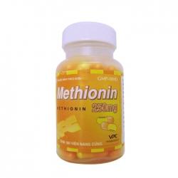VPC Methionin 250mg, Hộp 100 viên