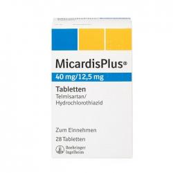 Thuốc Micardis Plus 40/125mg, Hộp 30 viên