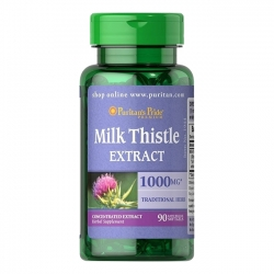 Viên uống bổ gan Milk Thistle Extract Puritan Pride 1000mg