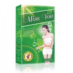 Tpbvsk giảm cân Miss You, Hộp 20 viên