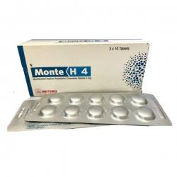 Thuốc Hetero MonteH4, Hộp 30 viên