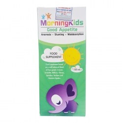 Morningkids Good Appetite 125ml giúp ăn ngon
