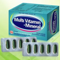Tpbvsk Multi Vitamin Mineral  Phúc vinh   Hộp 100 viên
