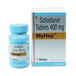 Thuốc Mylan Myhep Sofosbuvir Tablets 400mg, Hộp 28 viên