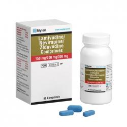 Thuốc Mylan Lamivudine 150mg Zidovudine 200mg Nevirapine 300mg, Chai 60 viên