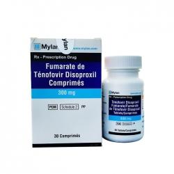 Mylan Tenofovir Disoproxil Fumarate Tablets 300mg ( Ricovir 300mg ), Hộp 30 viên