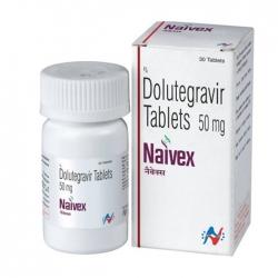 Thuốc Naivex Dolutegravir 50mg, Hộp 30 viên