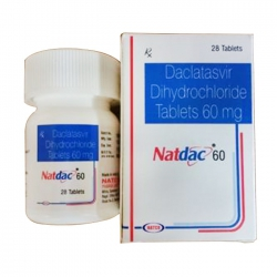 Thuốc Natco Natdac 60mg, Chai 28 viên