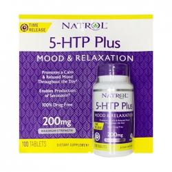 Natrol 5-HTP Mood and Stress 200mg, 100 viên