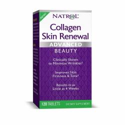 Natrol Collagen Skin Renewal dạng viên bổ sung collagen 120 Viên